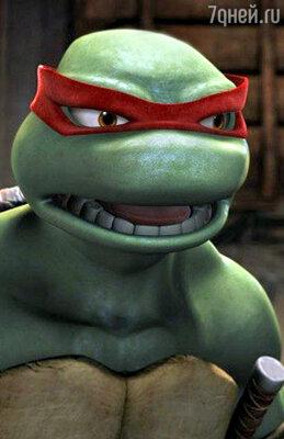 Кадр из мультфильма «Черепашки ниндзя»