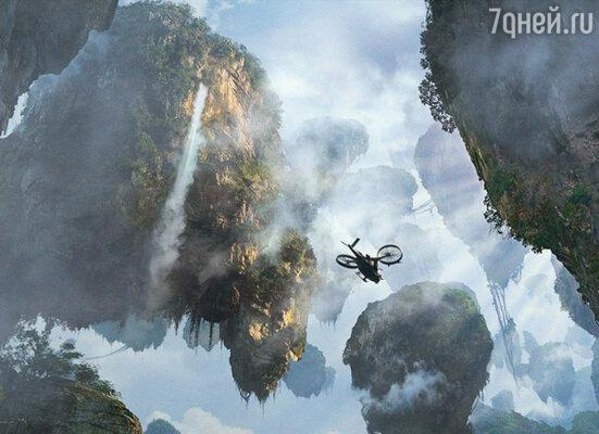 Добиться того, чтобы горы в фильме «Аватар» летали, получилось не сразу. Решение пришло неожиданно: между горами компьютерные дизайнеры «пропустили» облака, что и создало нужный эффект