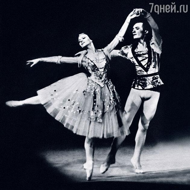 Елена Матвеева с Михаилом Лавровским