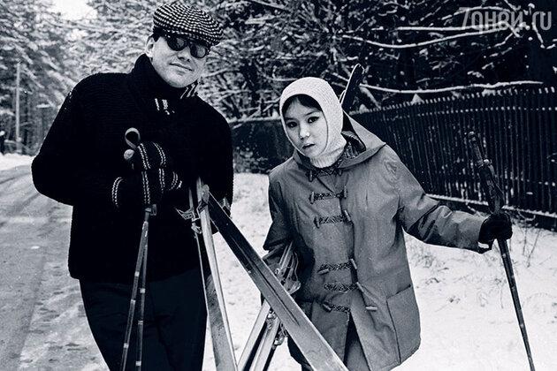 Андрон Кончаловский и Наташа Аринбасарова