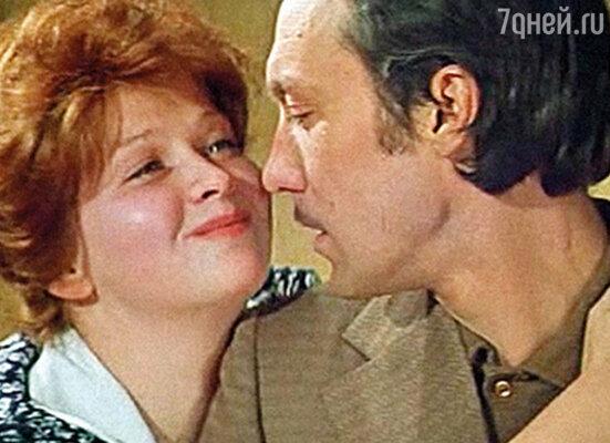 Наталья Гундарева с Олегом Янковским в фильме «Сладкая женщина». 1976 г.