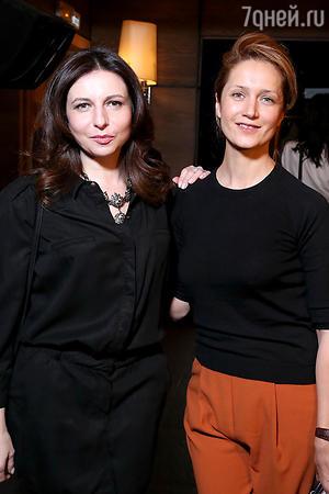 Алиса Хазанова и Виктория Исакова