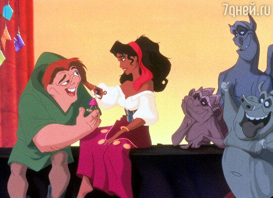 Кадр из мультфильма студии Disney «Горбун из Нотр-Дама». 1996 год