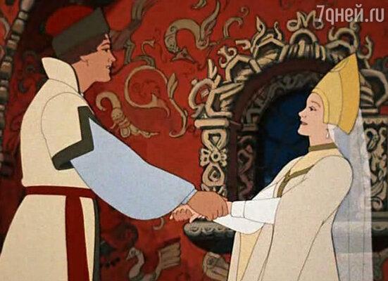 Кадр из мультфильма «Царевна-Лягушка», 1954 год