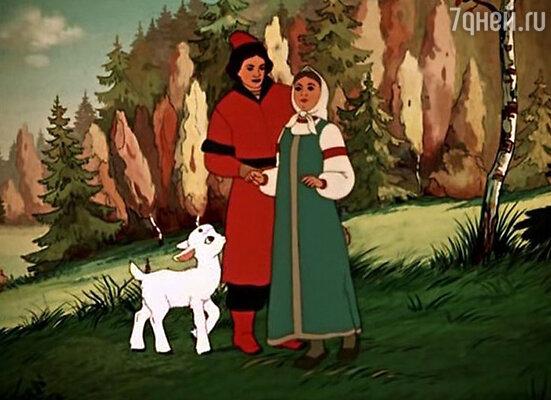 Кадр из мультфильма «Сестрица Аленушка и братец Иванушка», 1953 год