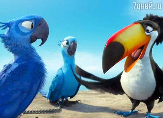 Кадр мультфильма «Рио»