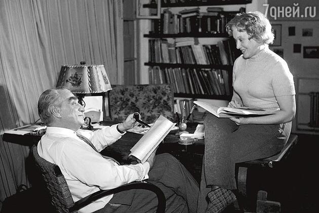 Григорий Александров и Любовь Орлова