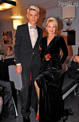Самое яркое лицо канала Татьяна Веденеева и любимый ведущий женской аудитории Влад Лисовец