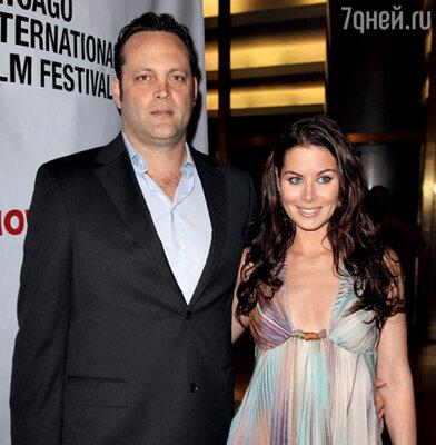 Винс Вон с женой Кайлой