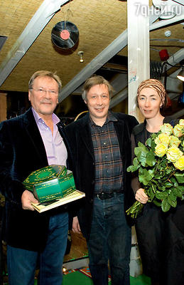 С Михаилом Ефремовым и его женой Софьей