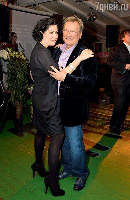 Союз Сергея Шакурова и его жены Кати друзья считают идеальным