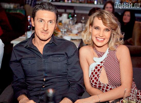 Глюк'оZа с супругом АлександромЧистяковым