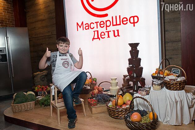 Съемки кулинарного шоу СТС «Мастер-шеф. Дети»
