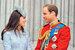 Герцогиня Кэтрин с мужем принцем Уильямом