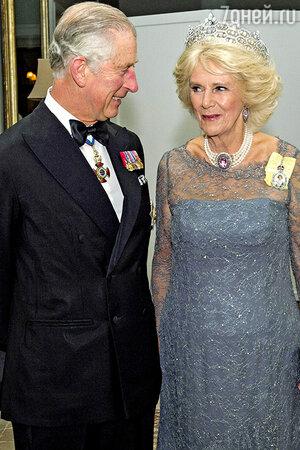 Герцогиня Корнуольская и принц Чарлз