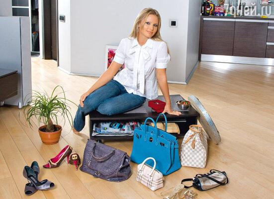 Дана впервые всерьез задумалась о собственном стиле с приходом на НТВ в программу «Принцип домино»
