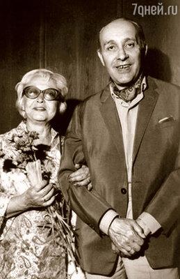 Янина со своим третьим мужем режиссером Леоном Жанно, который настоял на их переезде в Польшу