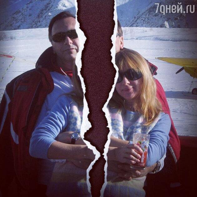 Алёна Апина с мужем