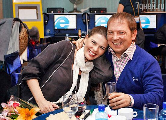 Юлия Галкина и Андрей Федорцов