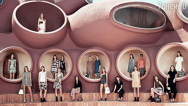 В Каннах состоялся показ круизной коллекции Christian Dior
