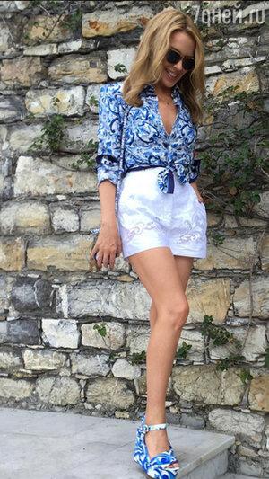 Кайли Миноуг в Dolce&Gabbana
