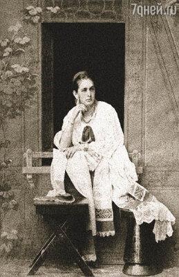 Мария Андреевна, будущая жена Плевако, в свое время ушла от мужа-миллионера с пятью детьми