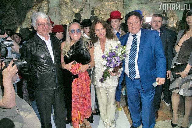 Татьяна Михалкова, Жаклин Биссет, Александр Митрошенков