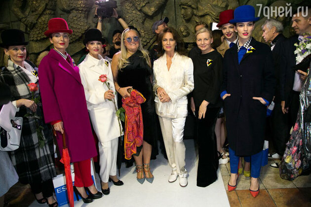 Татьяна Михалкова и Жаклин Биссет