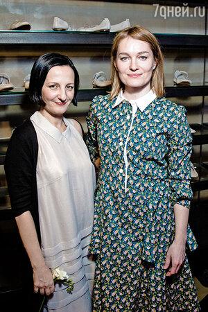 Виктория Толстоганова и Светлана Тегин