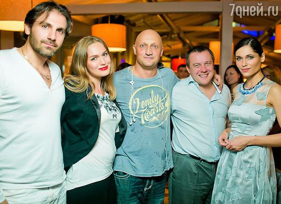 Гоша Куценко отметил 46-летие в кругу друзей