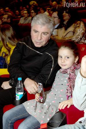 Сосо Павлиашвили с дочерью