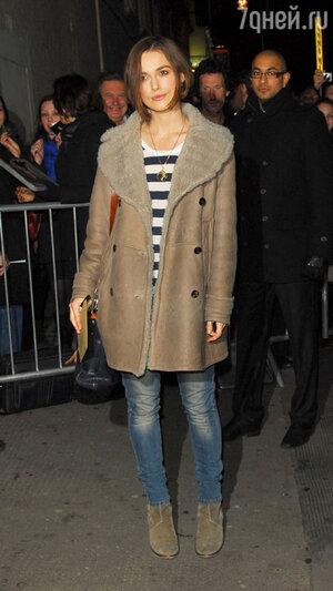 Кира Найтли. Лондон, февраль 2011 года