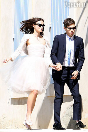 Свадьба Киры Найтли и  Джеймса Райтона, 2013 год