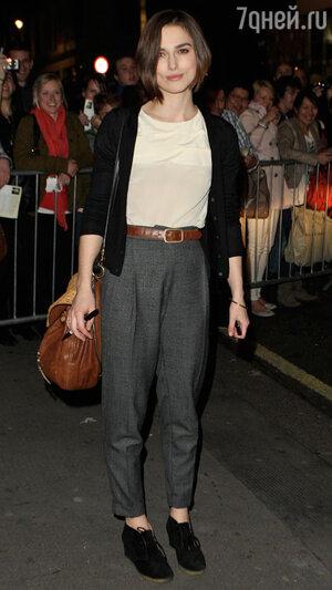 Кира Найтли. Лондон, апрель 2011 года