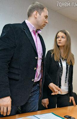 Марина Яблокова и ее адвокат Сергей Жорин