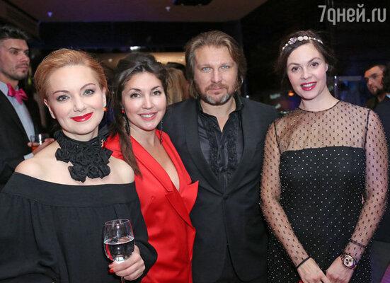 Ольга Будина, Мария Лемешева, Егор Пазенко, Екатерина Андреева