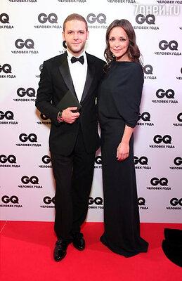 Константин Крюков с супругой