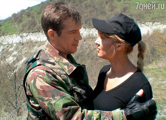 В сериале «Слепой-3» с Мариной Черняевой. 2007 г.