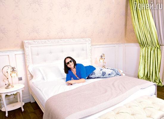 София Михайловна очень довольна своими личными апартаментами на «Вилле София»
