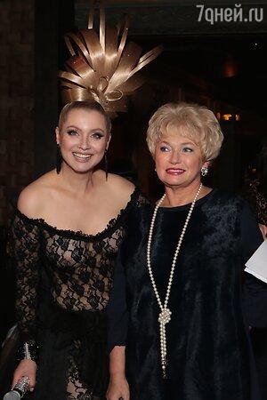 Лена Ленина и Людмила Нарусова