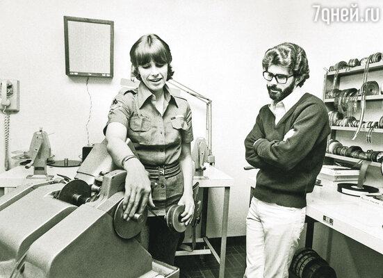 Будучи на год моложе Лукаса, его будущая первая жена Марсия Гриффин успела стать профессиональным монтажером