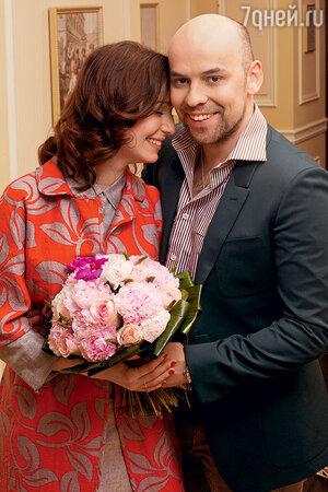 Валерия Ланская с мужем, кинорежиссером Стасом Ивановым