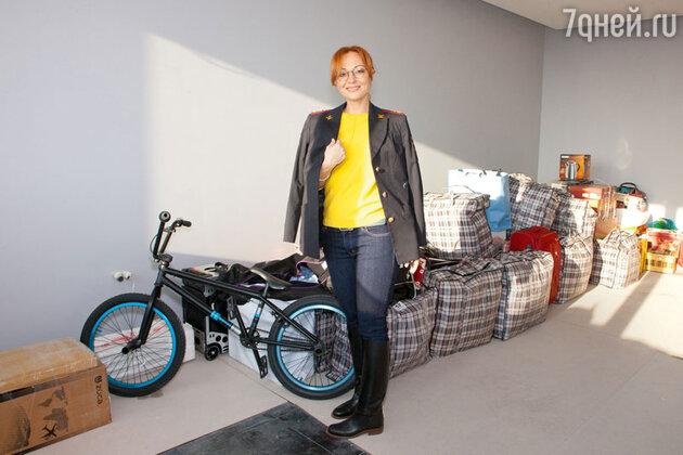 Виктория Тарасова переезжает в новую квартиру