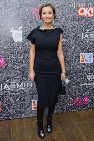 Ольга Орлова на  презентации нового альбома певицы Жасмин «От любви до любви»