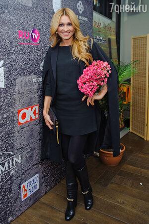 Анжелика Агурбаш на  презентации нового альбома певицы Жасмин «От любви до любви»