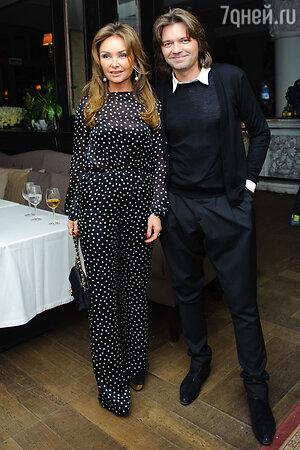 Дмитрий и Елена Маликовы на  презентации нового альбома певицы Жасмин «От любви до любви»
