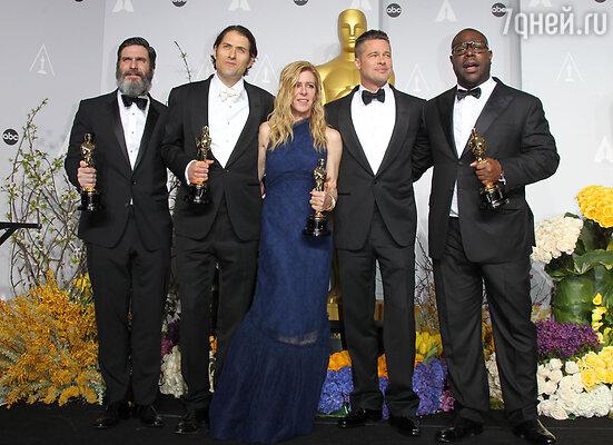 Главный «Оскар»  получил фильм «12 лет рабства»