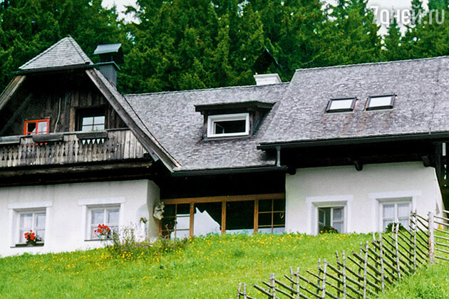 В альпийском поместье Шеллов
