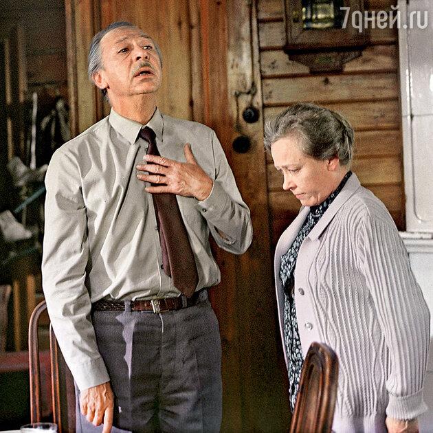Ия Саввина и Олег Ефремов