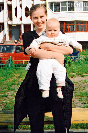 Ирина Линдт с сыном Иваном